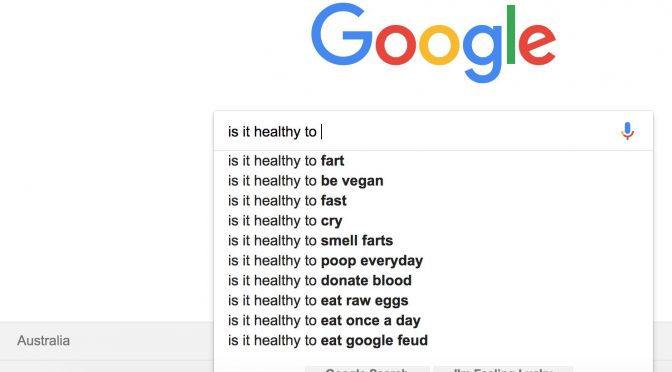 Is it healthy to…